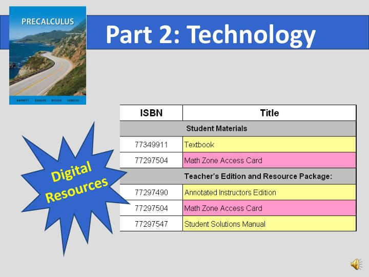 Part 2: Technology