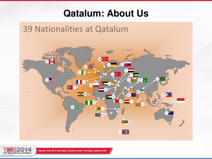 39 Nationalities at Qatalum
