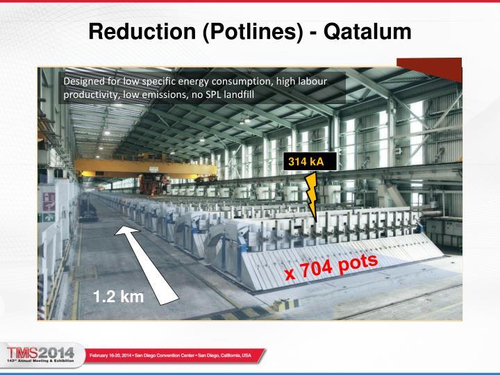 Reduction (Potlines) - Qatalum
