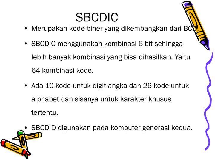 SBCDIC