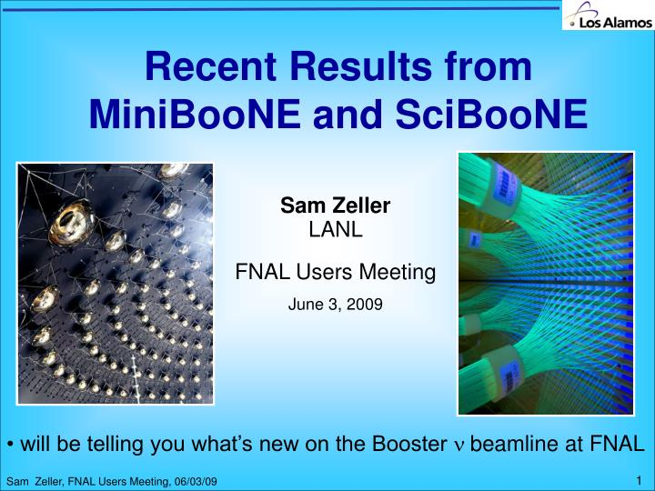 Recent results from miniboone and sciboone