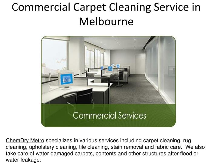 commercial carpet cleaning service in melbourne
