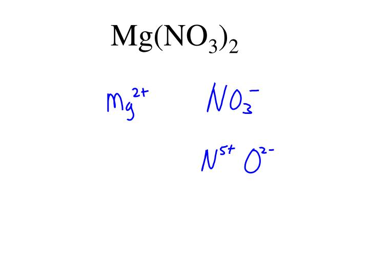 Mg(NO