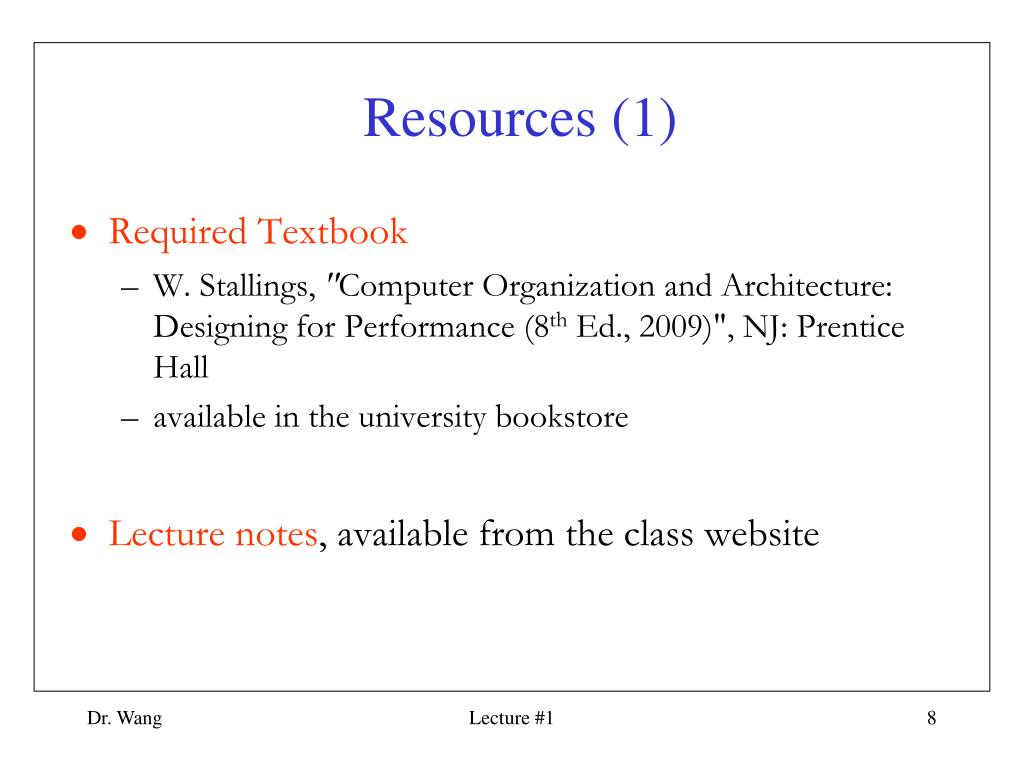Ppt Ece 456 Computer Architecture Powerpoint Presentation Free Download Id 5978659