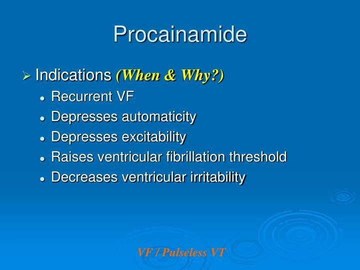 Procainamide