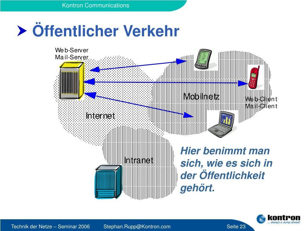 öffentliche Netze