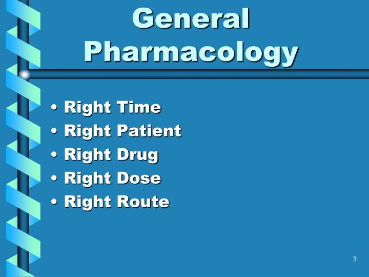 General pharmacology1