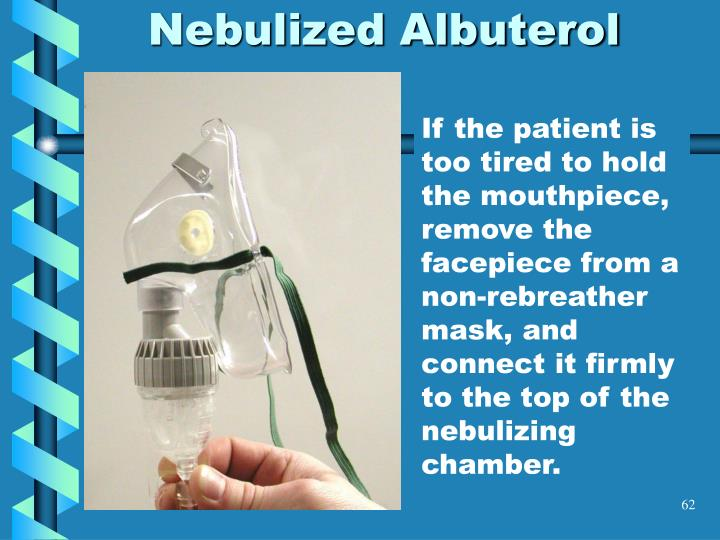 Nebulized Albuterol