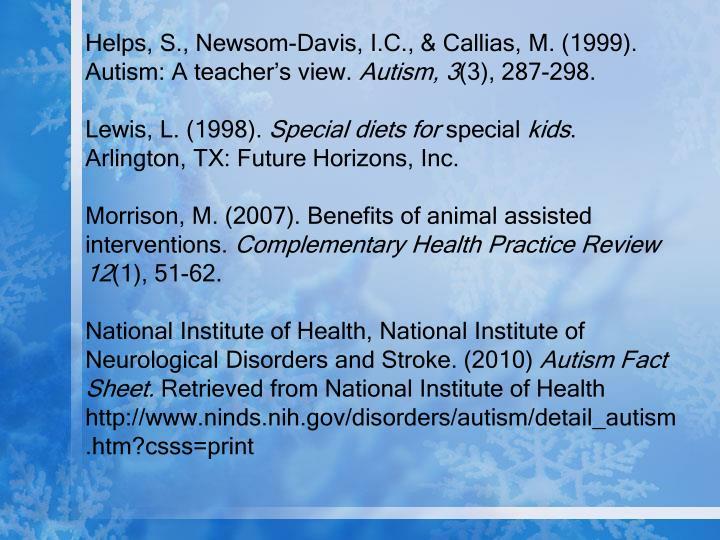 Helps, S., Newsom-Davis, I.C., &