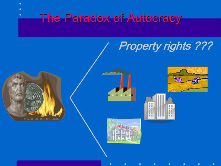 The Paradox of Autocracy