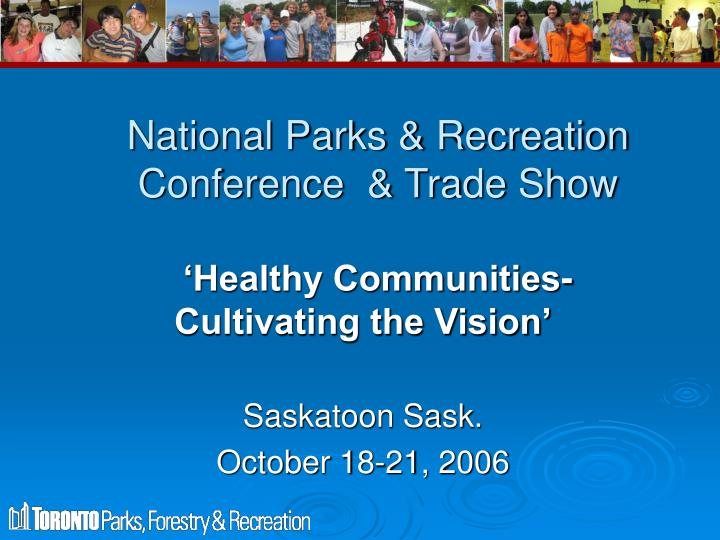 national parks recreation conference trade show n.