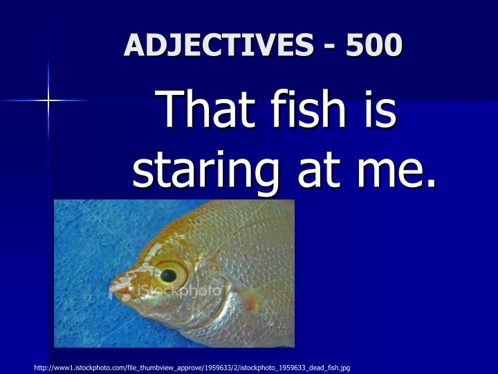 ADJECTIVES - 500