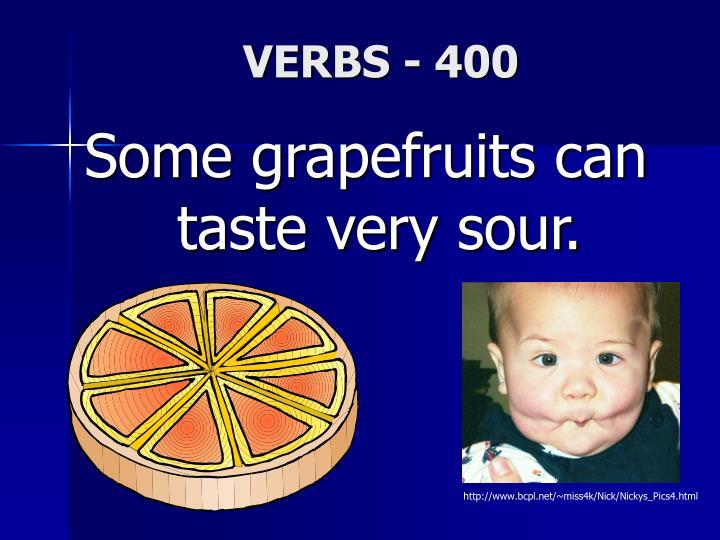 VERBS - 400