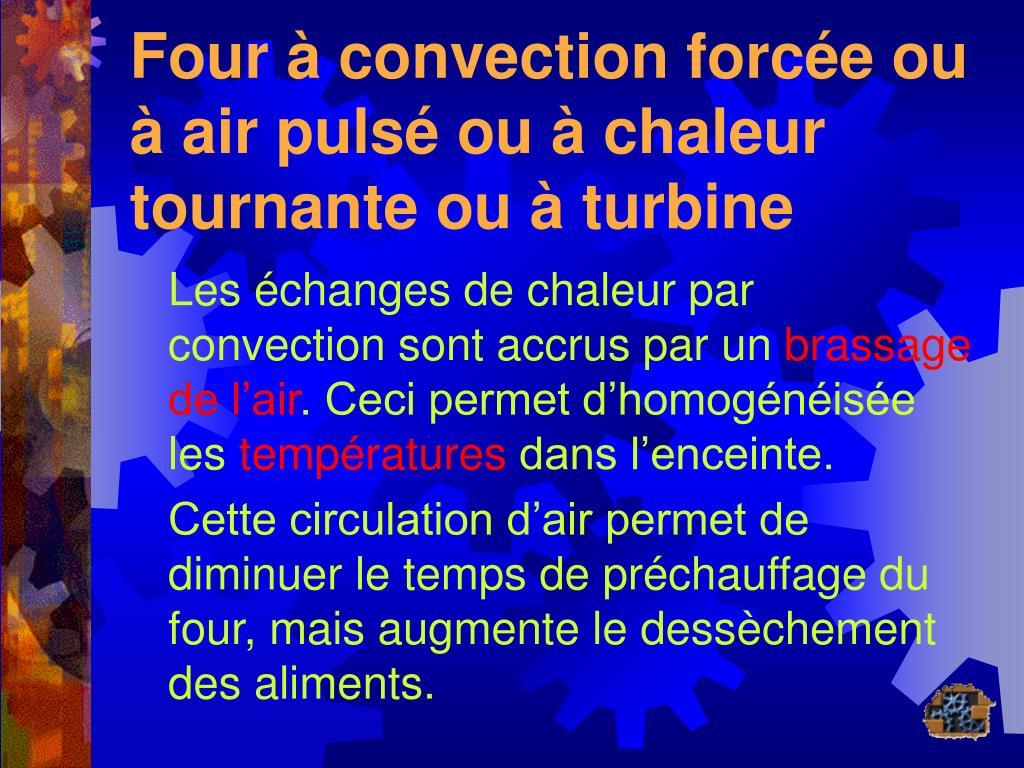 Four Air Pulsé Ou Chaleur Tournante ppt - revisions equipement powerpoint presentation, free