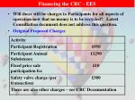 financing the crc ees