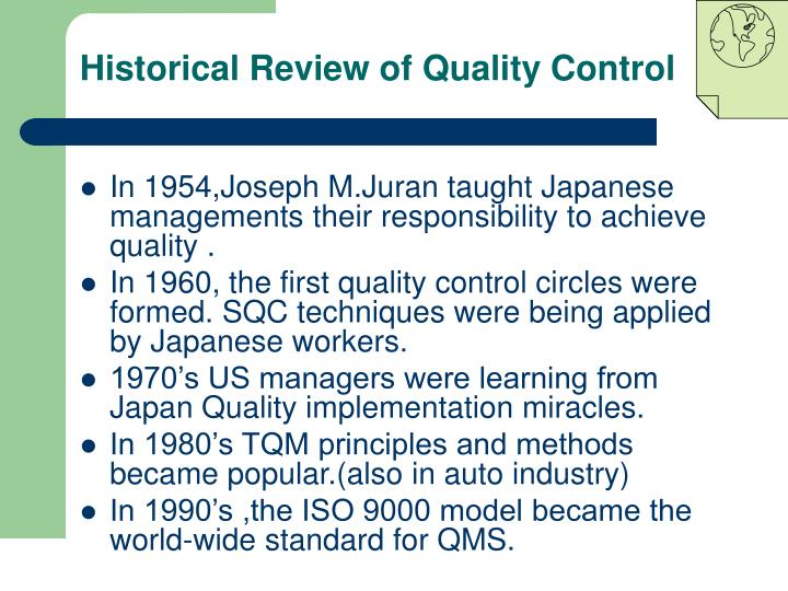 quality control circles in japan