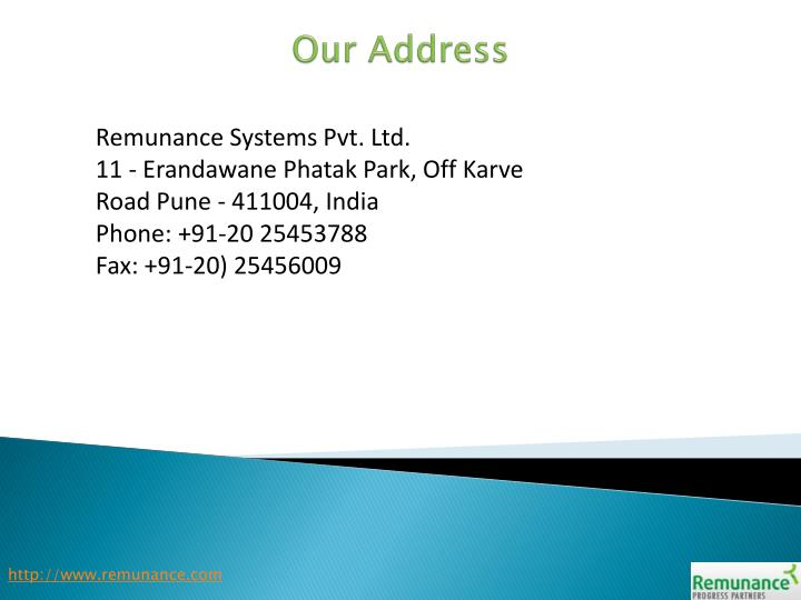 Remunance Systems Pvt. Ltd.