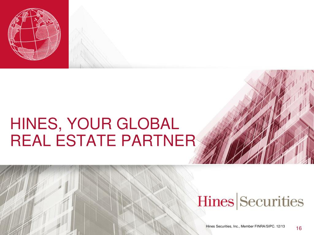 hines real estate investment trust phone number