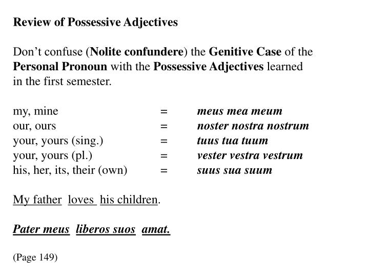 grammar grammatical tense and nouns possessive Possessive pronounspossessive pronouns are used when you want to indicate who ow possessive pronouns - easy learning grammar tense the verb phrase types.