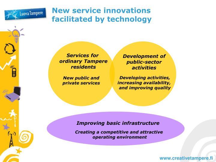 New service innovations