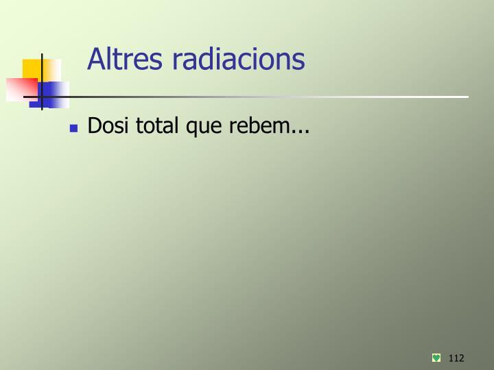 Altres radiacions