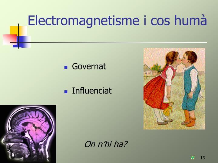 Electromagnetisme i cos humà