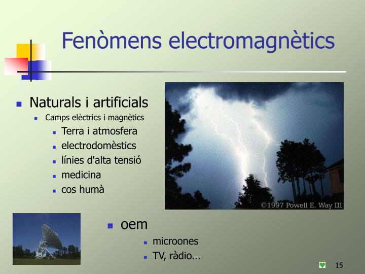 Fenòmens electromagnètics