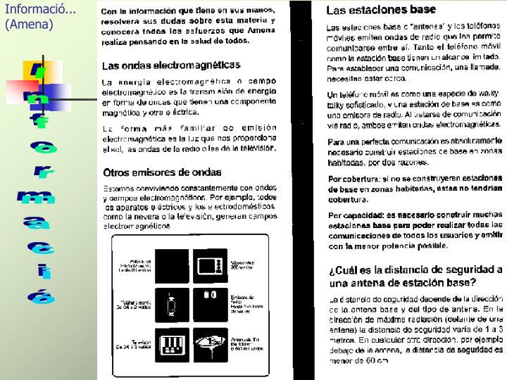 Informació...