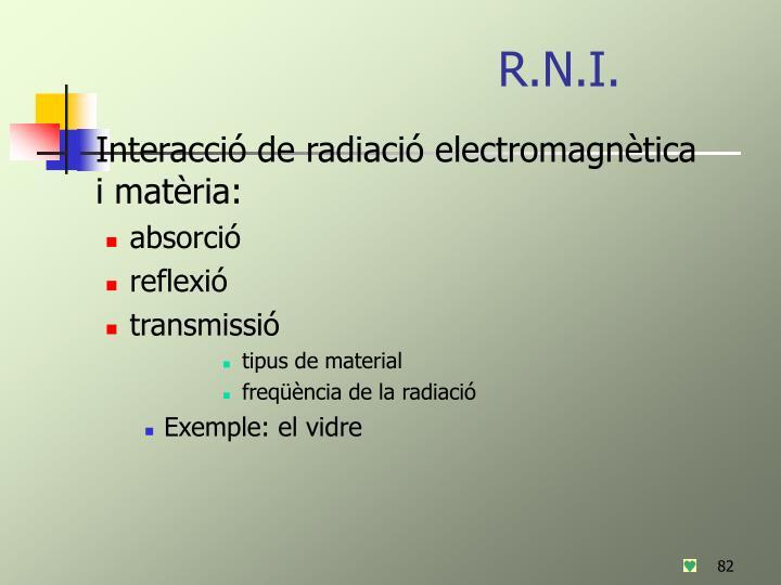 R.N.I.