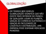 globaliza o