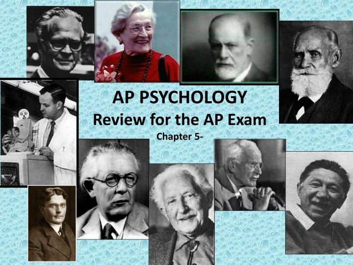 ap psychology review for the ap exam chapter 5 n.