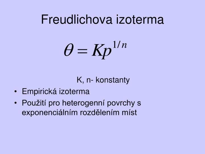 Freudlichova izoterma