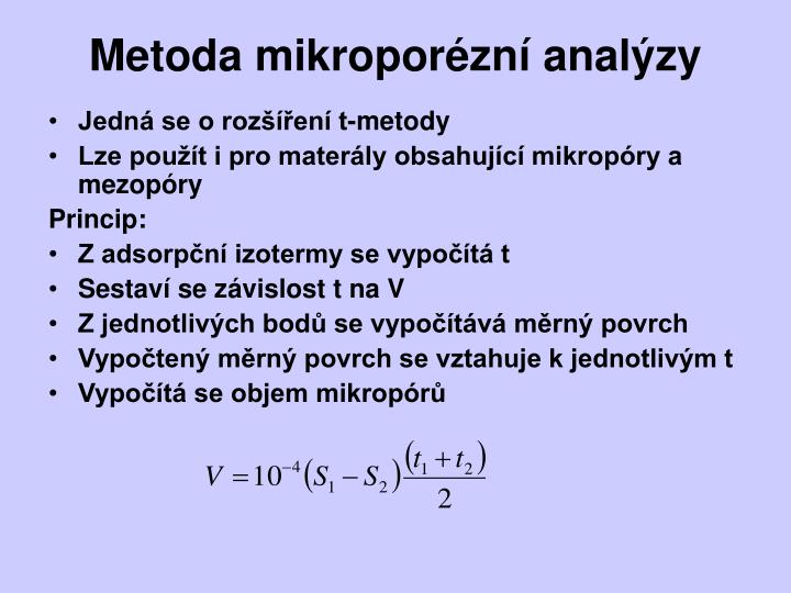 Metoda mikropor