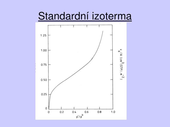 Standardní izoterma