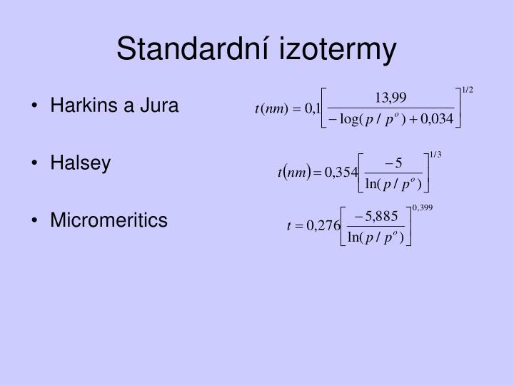 Standardní izotermy