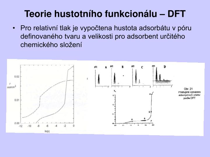 Teorie hustotního funkcionálu – DFT