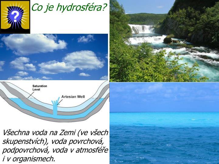 Co je hydrosféra?