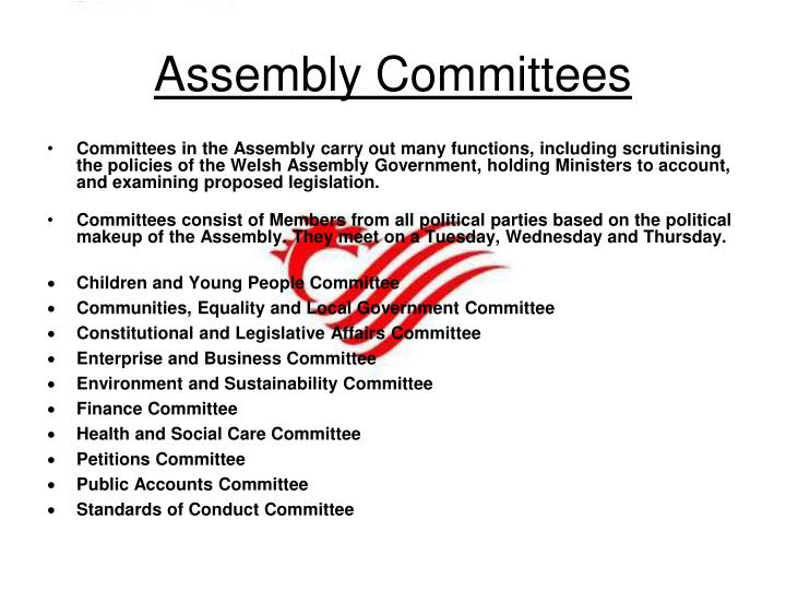 Assembly Committees