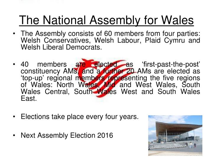 The National Assembly for Wales