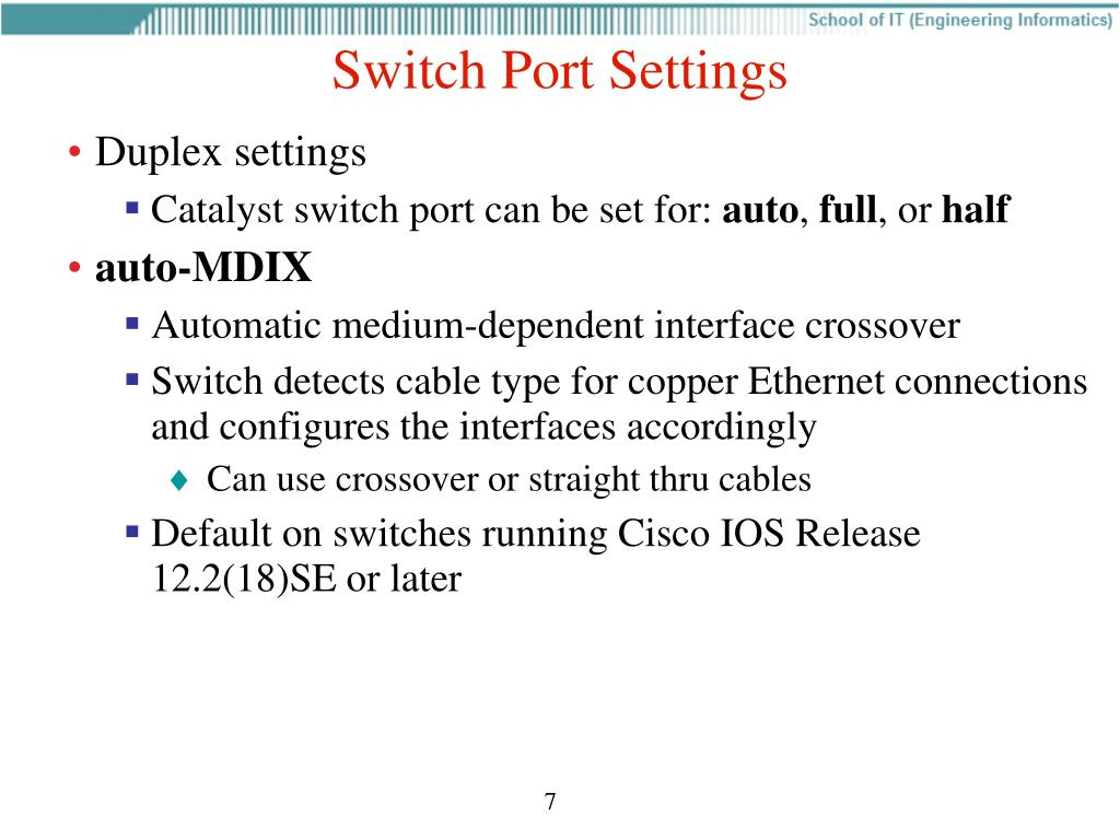 PPT - CCNA 3 v4 0 Chapter 2 Basic Switch Concepts and Configuration