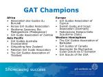 gat champions