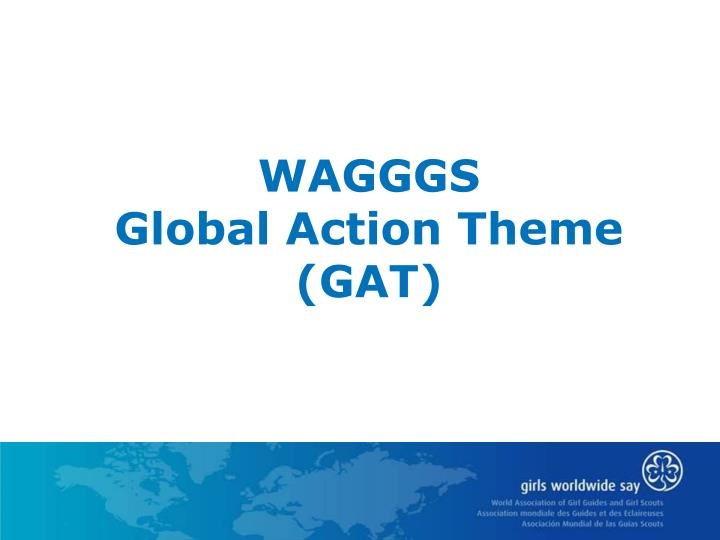wagggs global action theme gat n.