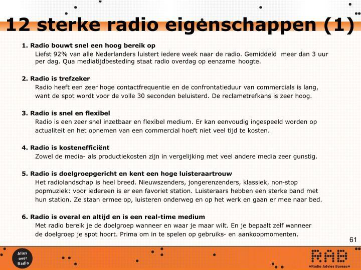 12 sterke radio eigenschappen (1)
