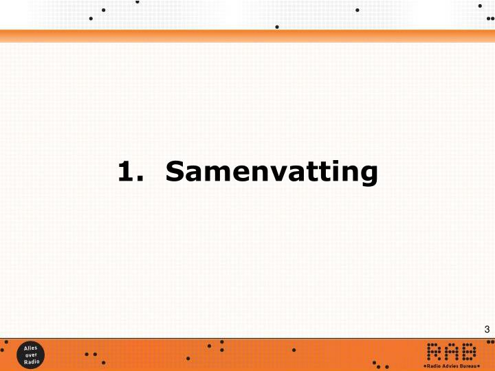 1.Samenvatting