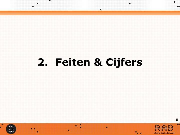 2.Feiten & Cijfers