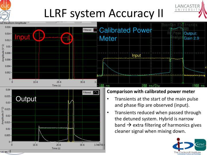 LLRF system Accuracy II
