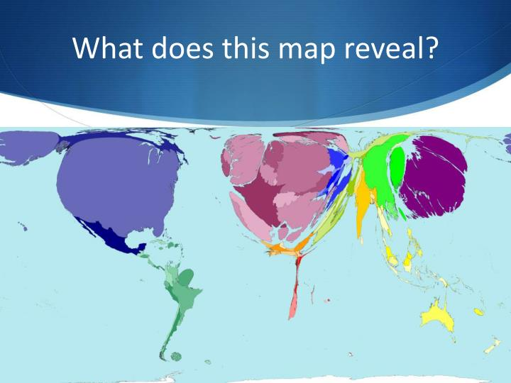 What does this map reveal?