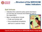 structure of the servicom index indicators5