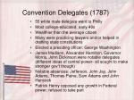 convention delegates 1787