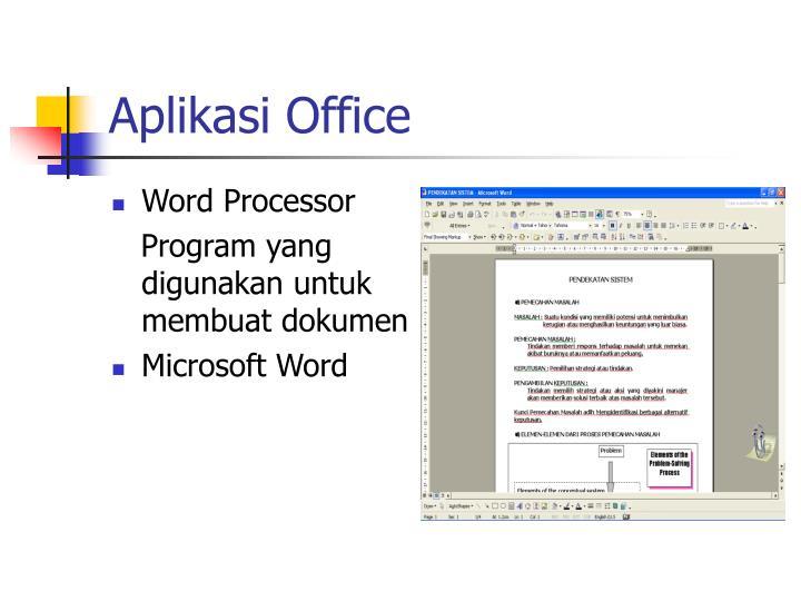 Aplikasi office
